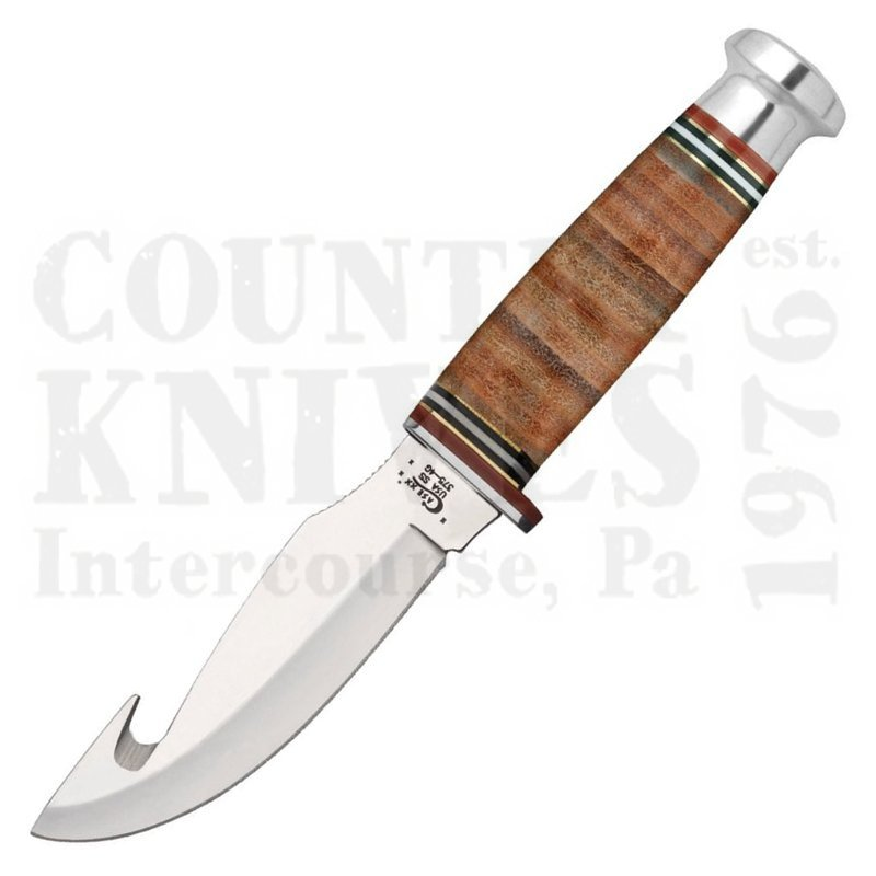 Buy Case  CA10340 Guthook Hunter - Mushroom Cap Pommel at Country Knives.