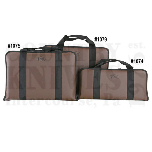 Buy Case  CA1075 Leather Knife Case - Holds 44 Knives at Country Knives.