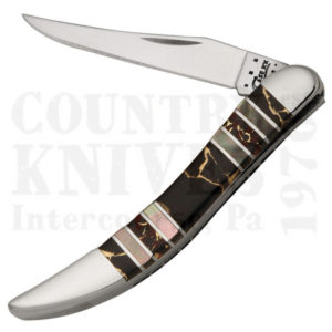 Buy Case  CA11062 Small Texas Toothpick - Black Aztec at Country Knives.