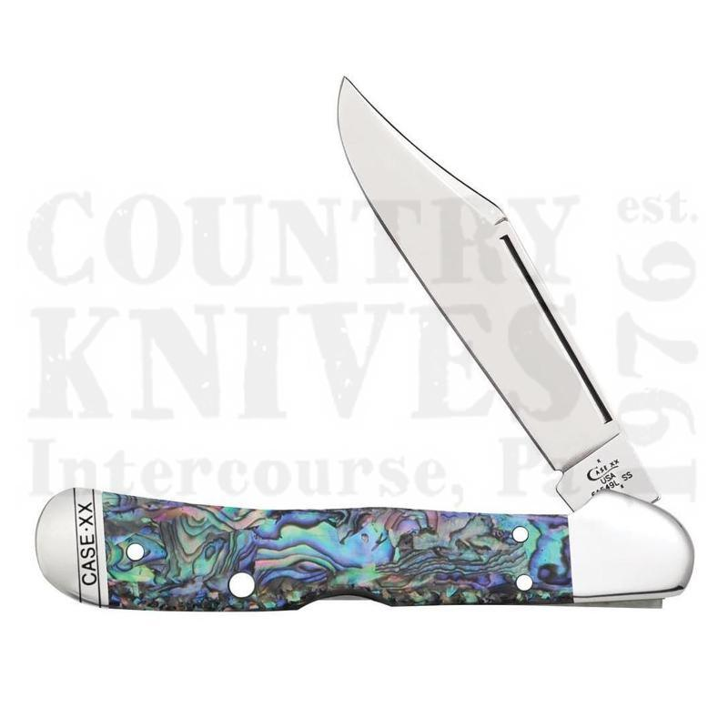 Buy Case  CA12007 CopperLock - Abalone at Country Knives.
