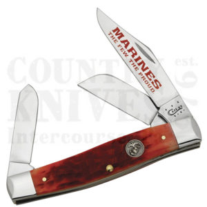 Buy Case  CA13173 Large Stockman - Red - U.S.M.C. at Country Knives.