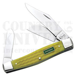 Buy Case  CA15703 Large Stockman, Yellow Bone at Country Knives.