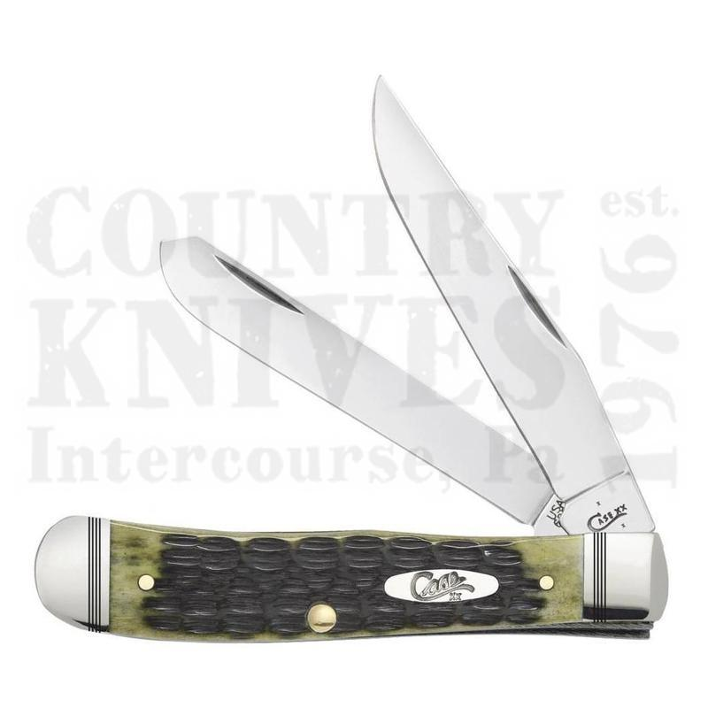 Buy Case  CA22541 Trapper - Olive Green at Country Knives.