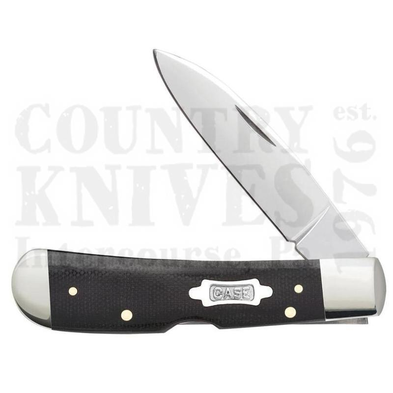 Buy Case  CA23133 Tribal Lock - Black Micarta at Country Knives.