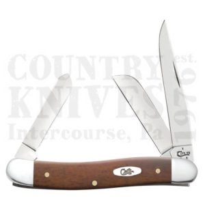 Buy Case  CA28701 Medium Stockman, Smooth Chestnut at Country Knives.