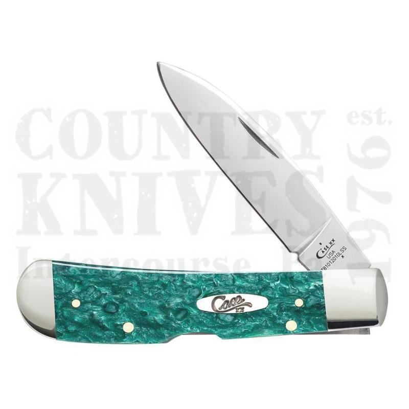 Buy Case  CA32585 Tribal Lock - Green Sparkle Kirinite at Country Knives.