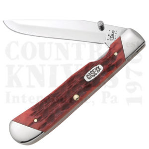 Buy Case  CA51376 TrapperLock, Dark Red Bone at Country Knives.