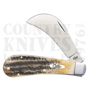 Buy Case  CA65309 Hawkbill Pruner, 6.5 Bone Stag at Country Knives.