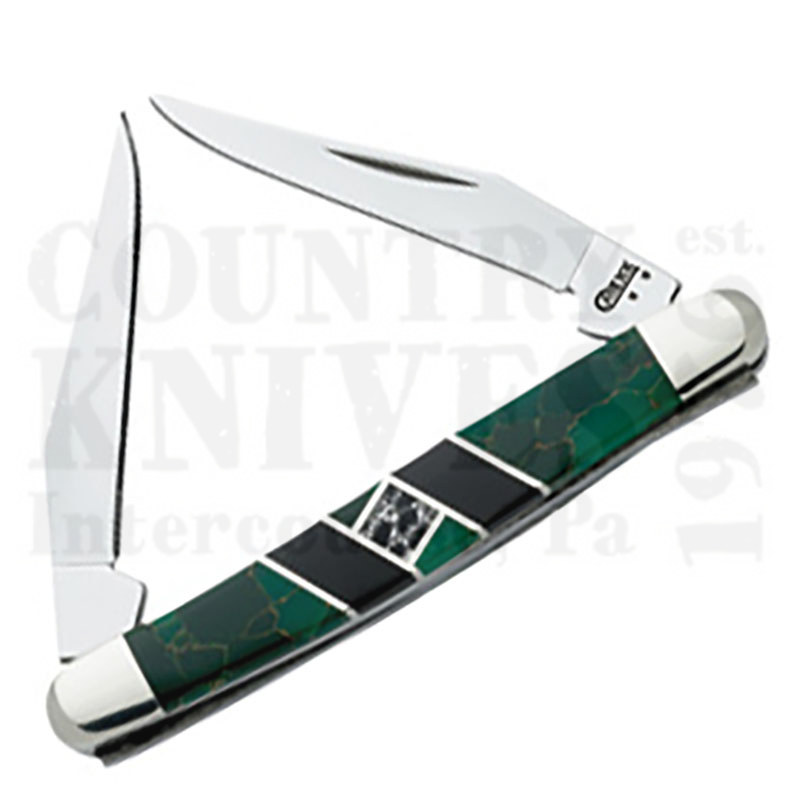 Buy Case  CA6642 Tiny Muskrat - Arizona Jade at Country Knives.