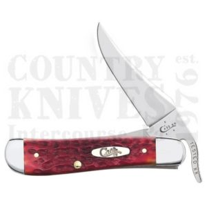 Buy Case  CA6994 RussLock, Dark Red Bone at Country Knives.