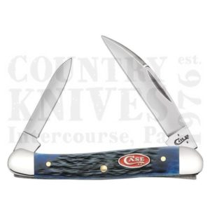 Buy Case  CA7062 Mini Copperhead - Navy Blue Bone at Country Knives.