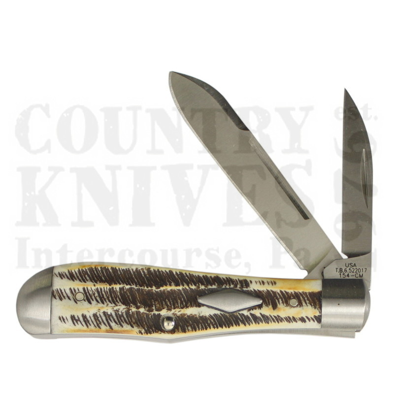 Buy Case  CA7421 Eureka Jack - 6.5 BoneStag at Country Knives.