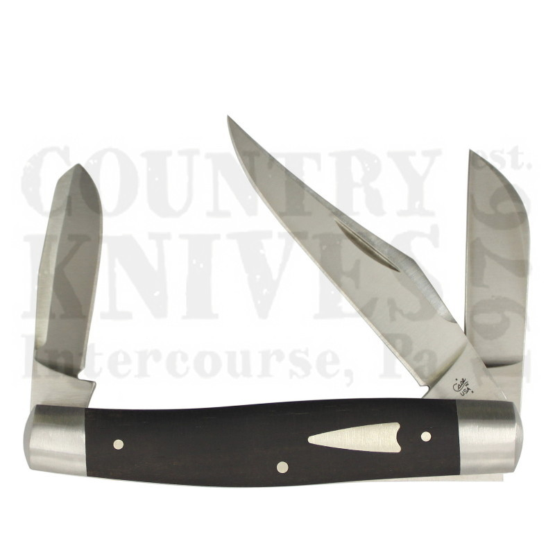 Buy Case  CA7428 Premium Stockman  - Ebony at Country Knives.