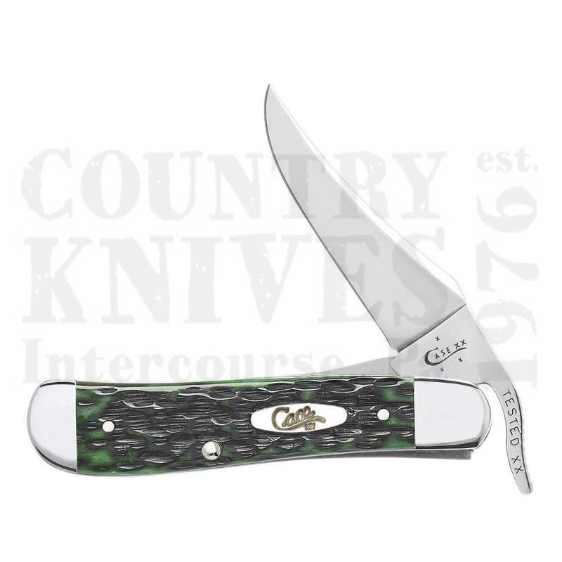 Buy Case  CA9743 RussLock - Pocket Worn Bermuda Green at Country Knives.