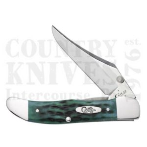Buy Case  CA9771 Mid-Folding Hunter - Pocket Worn Bermuda Green at Country Knives.