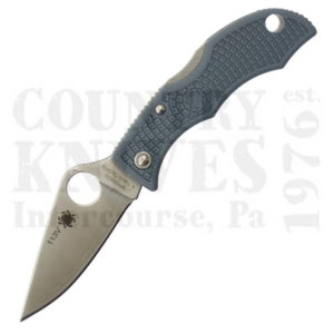 Buy Spyderco  LBLP3E LadyBug3 - LIGHT BLUE FRN / V-Toku2 / SUS310 at Country Knives.