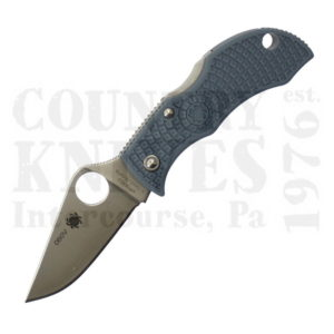 Buy Spyderco  MBBLPE ManBug, LIGHT BLUE FRN / V-Toku2 / SUS310 at Country Knives.