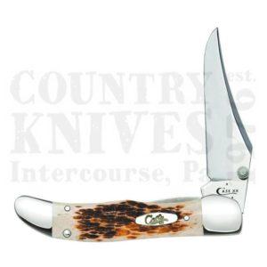 Buy Case  CA3015 Kickstart Mid-Folding Hunter - Amber Bone at Country Knives.