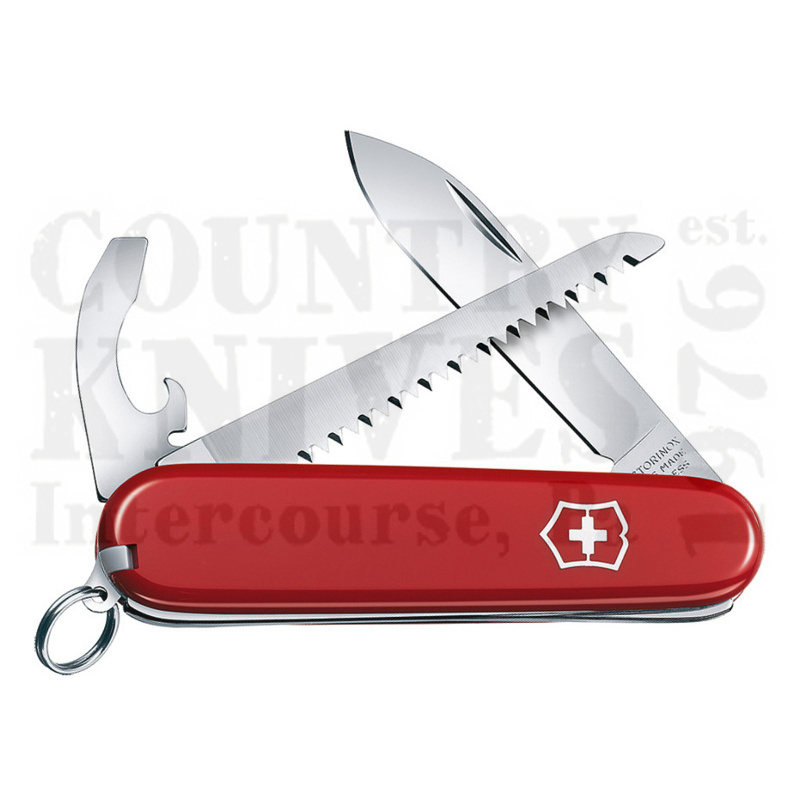 Buy Victorinox Swiss Army 0.2313US2 Walker - Red at Country Knives.