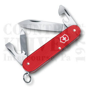 Buy Victorinox Swiss Army 0.2601.L18 Cadet, Berry Red Alox at Country Knives.