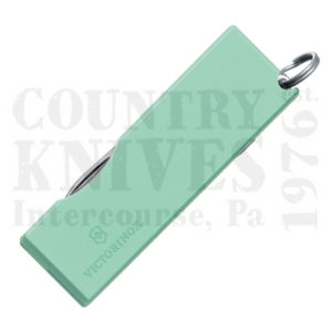 Buy Victorinox Swiss Army 0.6201.A47 Tomo, Mint Green at Country Knives.