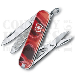 Buy Victorinox Swiss Army 0.6223.L1102 Classic SD - Sunset Hills at Country Knives.