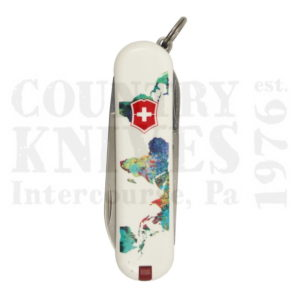 Buy Victorinox Swiss Army 0.6223.L1303US2 Classic SD 2013, The World - My Home at Country Knives.