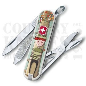Buy Victorinox Swiss Army 0.6223.L1609US2 Classic SD 2016, Wilhelm Tell at Country Knives.