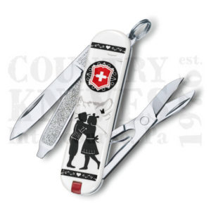 Buy Victorinox Swiss Army 0.6223.L1801US2 Classic SD 2018 - Alps Love at Country Knives.