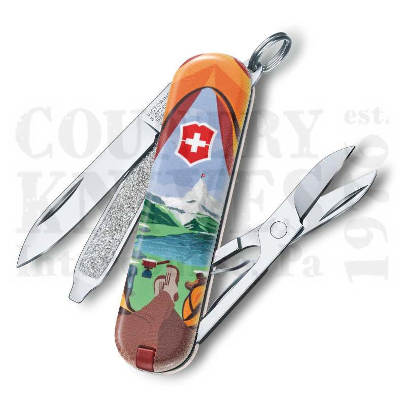 Buy Victorinox Swiss Army 0.6223.L1802US2 Classic SD 2018 - Call of Nature  at Country Knives.