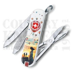 Buy Victorinox Swiss Army 0.6223.L1804US2 Classic SD 2018, Cappadocia at Country Knives.