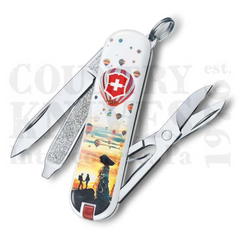 Buy Victorinox Swiss Army 0.6223.L1804US2 Classic SD 2018 - Cappadocia at Country Knives.