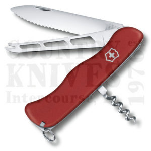 Buy Victorinox Swiss Army 0.8303.WUS2  Cheese Knife, Red Fibrox at Country Knives.