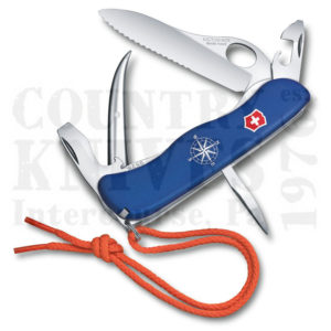 Buy Victorinox Swiss Army 0.8503.2MWUS2 Skipper Pro, Blue Fibrox at Country Knives.