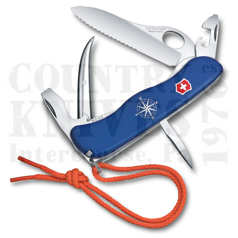 Buy Victorinox Swiss Army 0.8503.2MWUS2 Skipper Pro - Blue Fibrox at Country Knives.