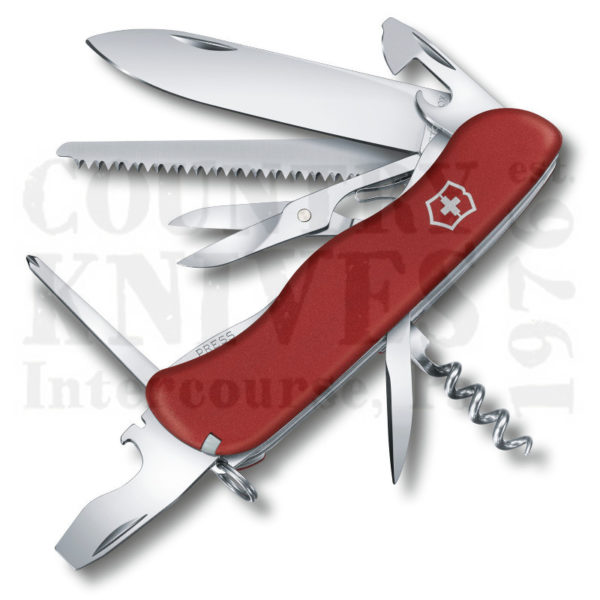 Buy Victorinox Swiss Army 0.8513.US2 Outrider - Red Fibrox at Country Knives.