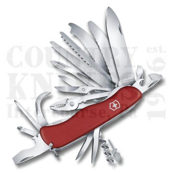 Victorinox Swiss Army 0 8564 Xlus2 Workchamp Xl Red Fibrox