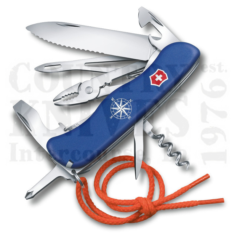 Buy Victorinox Swiss Army 0.8593.2WUS2 Skipper - Blue Fibrox at Country Knives.