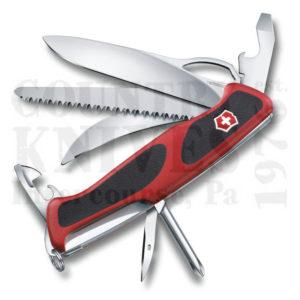 Buy Victorinox Swiss Army 0.9683.MCUS2 RangerGrip 58 Hunter - Red & Black at Country Knives.