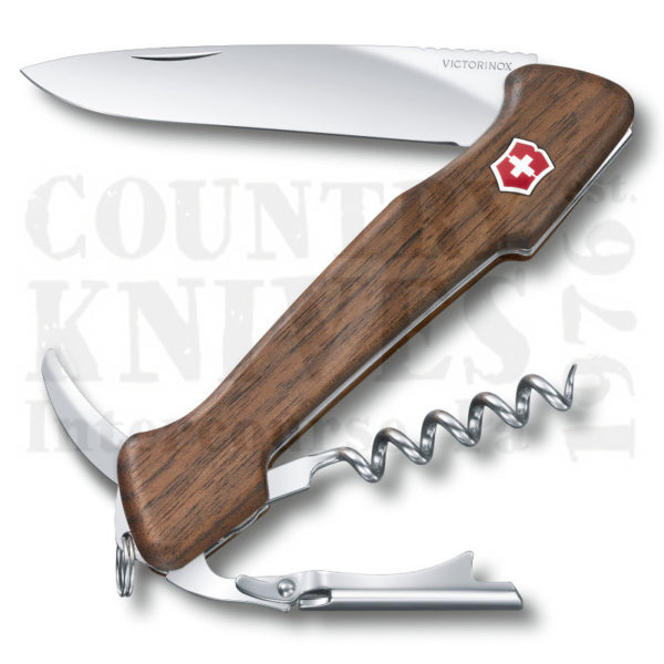 Buy Victorinox Swiss Army 0.9701.63 Wine Master - Swiss Walnut at Country Knives.