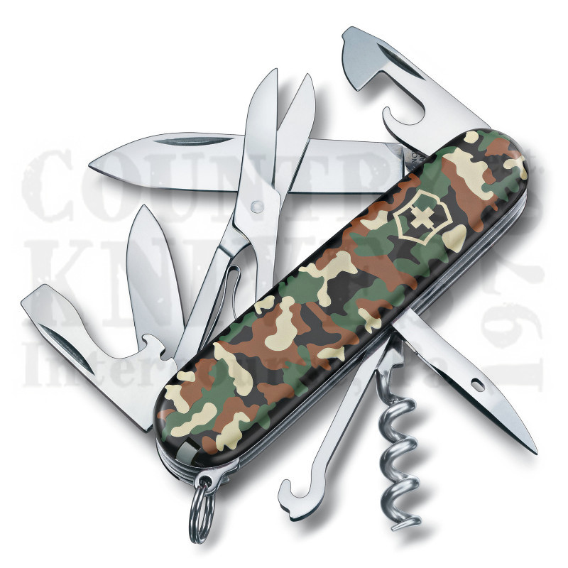 Buy Victorinox Swiss Army 1.3703.94US2 Climber - Camouflage at Country Knives.