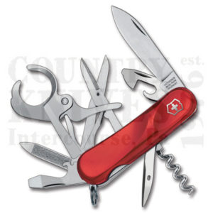 Buy Victorinox Swiss Army 2.5713.EUS2 Cigar 79, Red at Country Knives.
