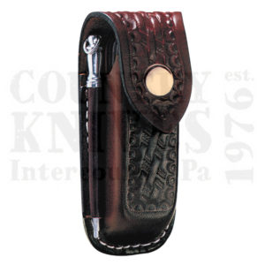 Buy Victorinox Swiss Army 33208 Large Pouch with Steel - Brown Leather at Country Knives.