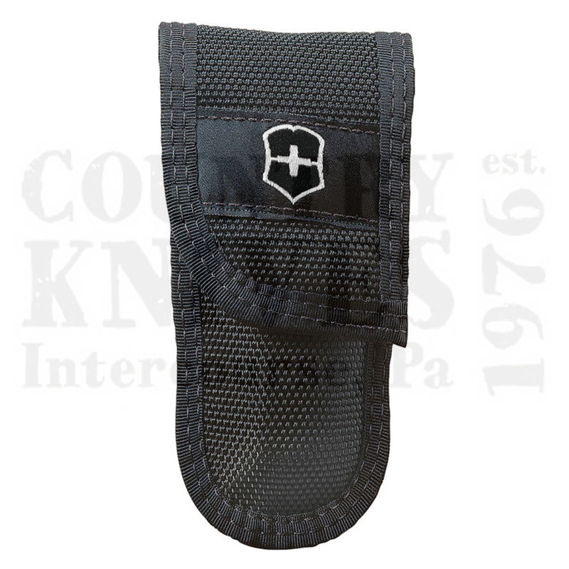 Buy Victorinox Swiss Army 33229 Lockblade Belt Pouch - Black Cordura Nylon at Country Knives.