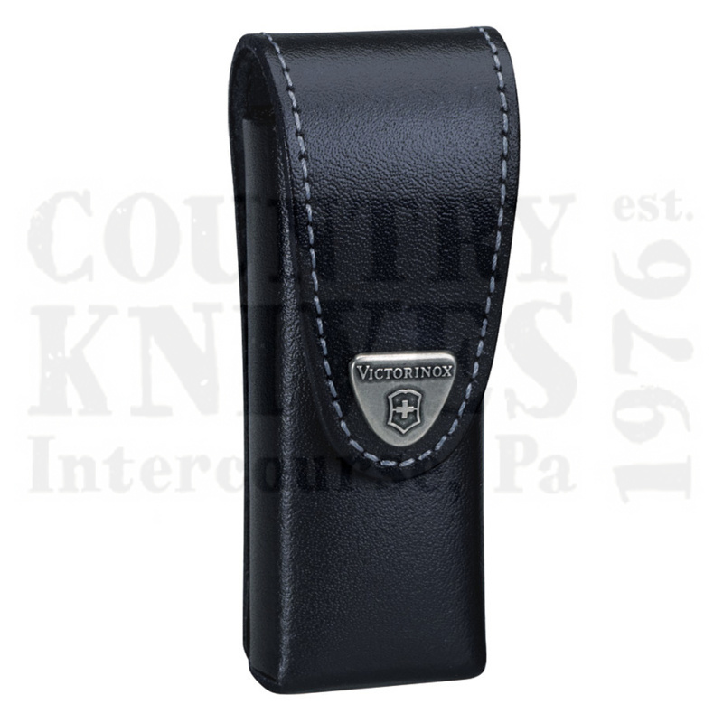 Buy Victorinox Swiss Army 33246 SwissTool Belt Pouch - Black Leather at Country Knives.