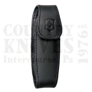 Buy Victorinox Swiss Army 33255 Medium Pocketknife Clip Pouch - Black Leather at Country Knives.