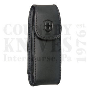 Victorinox   Swiss Army33256Large Pocketknife Clip Pouch – Black Leather