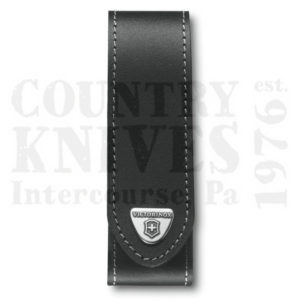 Buy Victorinox Swiss Army 4.0505.LUS2 Small RangerGrip Belt Pouch, Black Leather at Country Knives.