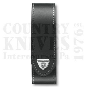 Buy Victorinox Swiss Army 4.0506.LUS2 Large RangerGrip Belt Pouch - Black Leather at Country Knives.