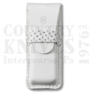 Buy Victorinox Swiss Army 4.0762.7 Tomo Pouch, White Leather at Country Knives.